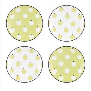 Kate Spade Wickford Orchard Tidbit Plate Set